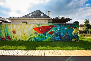 Сквер в микрорайоне «Близкий» ©Фото Елены Синеок, Юга.ру