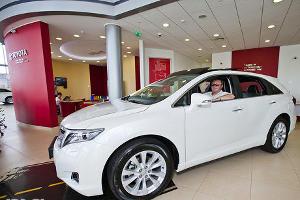 Презентация Toyota Venza в Тойота Центр Кубань ©Николай Ильин, ЮГА.ру