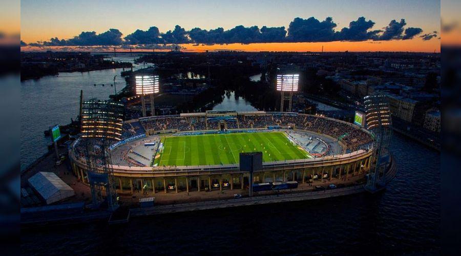 округханана фактория стадион зенит питер петровский фото плитами имитирует