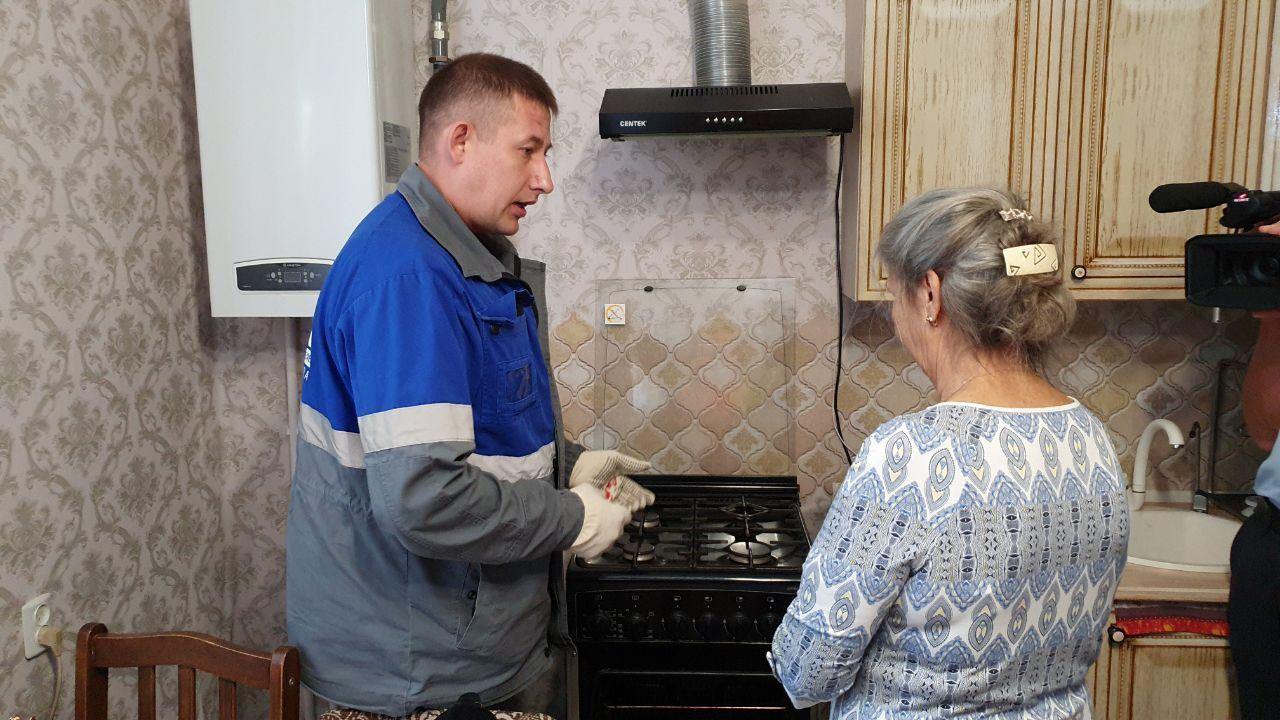 ©Фото пресс-службы « Газпром газораспределение Краснодар»
