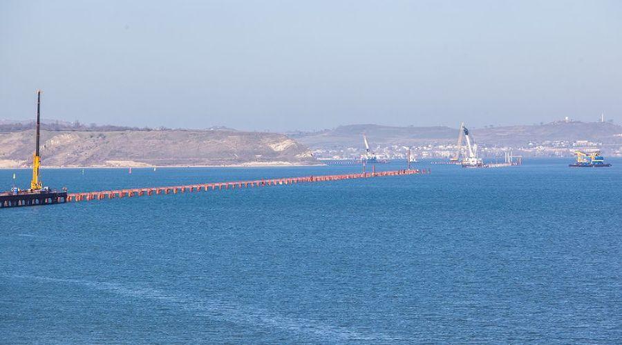 Строительство моста через Керченский пролив ©http://rosavtodor.ru