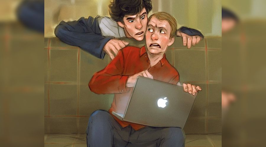 "Персонажи сериала ""Шерлок"" (ВВС) ©http://cytqg.beon.ru"