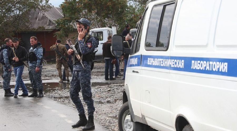 Нападение на райотдел МВД на Ставрополье ©Фото (с) РИА Новости