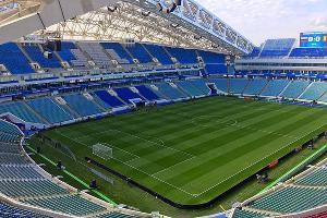 Стадион «Фишт» ©Фото пресс-службы губернатора Краснодарского края