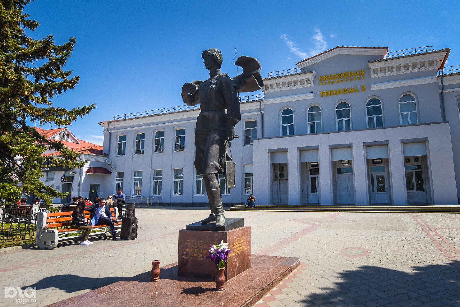 Памятник Евдокии Бершанской ©Фото Елены Синеок, Юга.ру