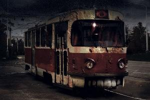 «Проклятый» трамвай ©Коллаж Дмитрия Филиппова, Юга.ру