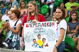«Краснодар» вырвал победу у «Локомотива» на последних минутах матча ©Фото Елены Синеок, Юга.ру