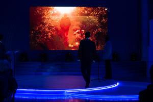 Церемония вручения VI национальной премии «Хрустальный компас» в Краснодаре ©Фото Елены Синеок, Юга.ру