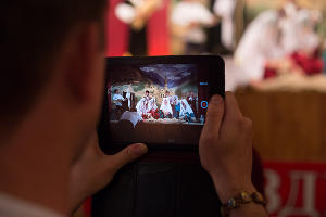 """Телеком-экспедиция """"МегаФон на высоте"""" в Центре традиционной культуры с. Ботлих ©Фото Юга.ру"""
