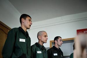 В столярном цехе Белореченской воспитательной колонии ©Елена Синеок. ЮГА.ру