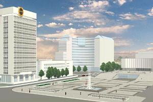 План реконструкции Октябрьской площади Краснодара ©Фото Юга.ру