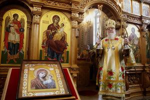 Богослужение в храме Святого Димитрия Донского ©Влад Александров, ЮГА.ру
