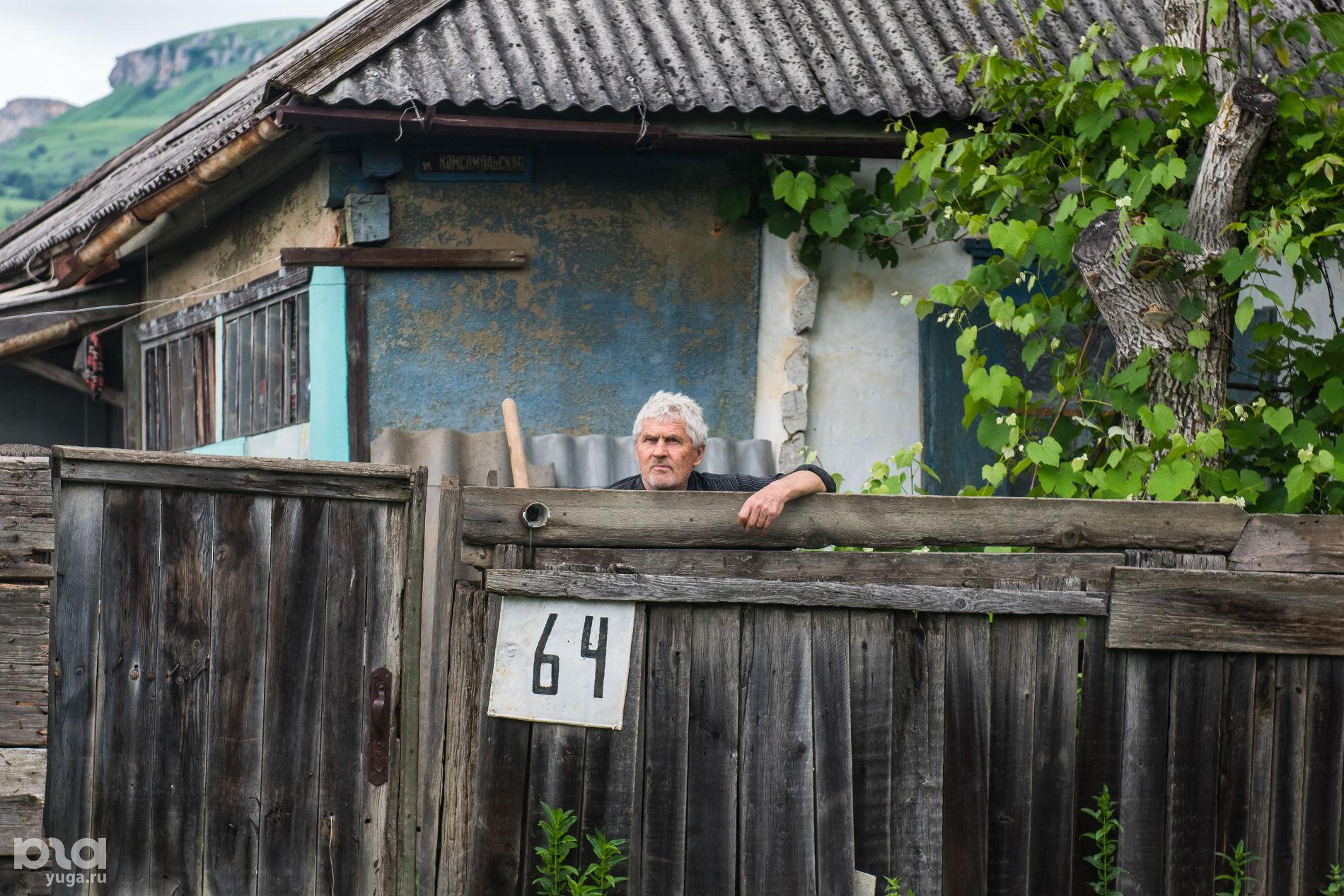 Житель Псебая Виктор Петрович ©Фото Елены Синеок, Юга.ру