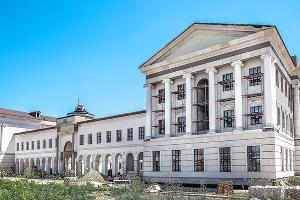 Фасад Усть-Лабинского лицея. Май 2020 года ©Фото пресс-службы фонда «Вольное дело»