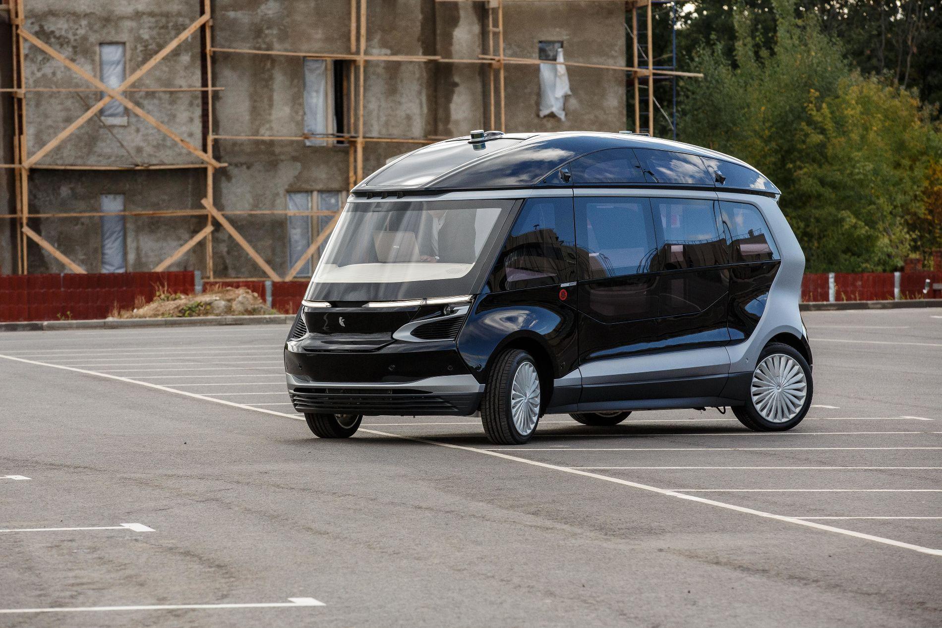 Презентация беспилотного электробуса в «Сколково»