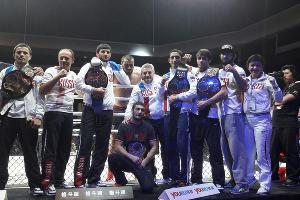 Сборная России на чемпионате мира по ММА в Макао ©Союз ММА России