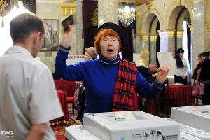 2011 год в фотографиях. Выборы в Госдуму РФ в Краснодаре ©http://www.yuga.ru/photo/1041.html