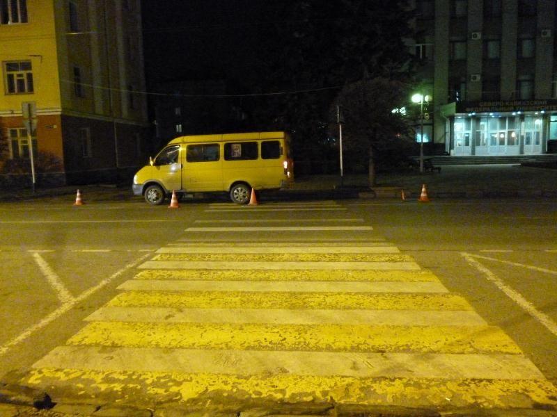 ВСтаврополе шофёр маршрутки сбил 10-летнюю школьницу