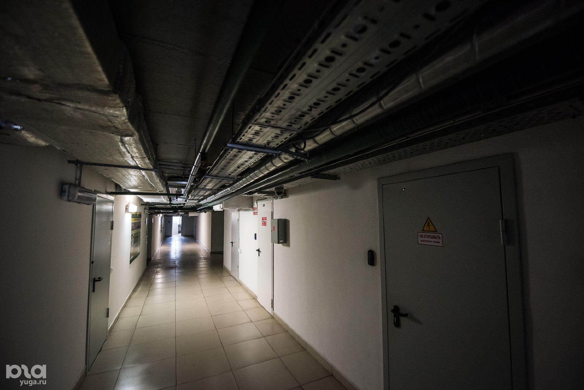 Технический этаж «Баскет-холла» ©Фото Елены Синеок, Юга.ру