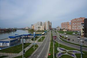 Краснодар, Кубанская Набережная ©Фото Евгения Мельченко, Юга.ру