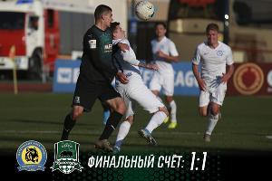 Матч ФНЛ «Луч» — «Краснодар-2» ©Фото пресс-службы ФК «Краснодар-2»