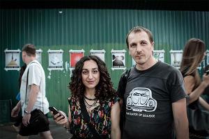 Лусинэ Джанян и Алексей Кнедляковский ©Фото с сайта lusine-djanyan.livejournal.com