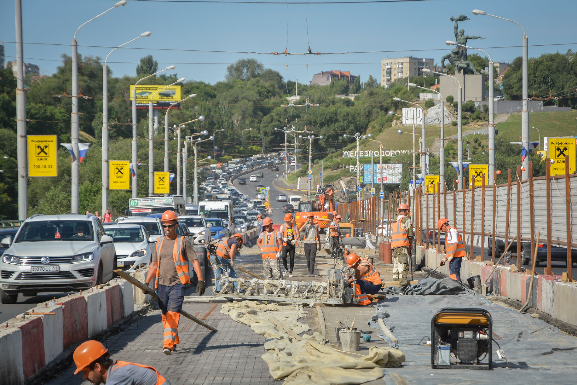 ВРостовской агломерации завершен ремонт свыше 40 километров автомобильных дорог