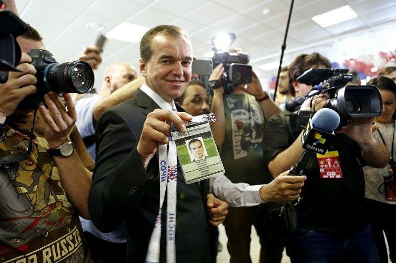 Мутко получил паспорт болельщика для посещения матчей Кубка конфедераций