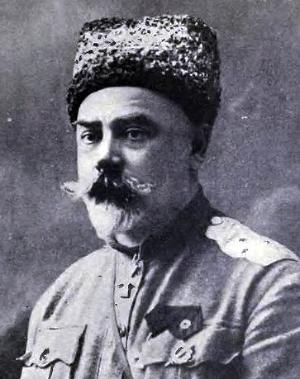 Антон Иванович Деникин (1872?1947) — русский военачальник, общественный деятель и публицист. Родился в Варшавской губернии в семье бывшего крепостного. Участник Русско-японской и Первой мировой войны.