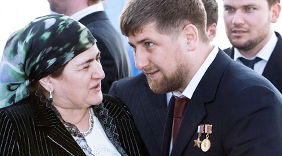 Аймани и Рамзан Кадыровы ©Фото (с) РИА Новости