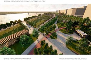 ©Скриншот презентации концепции развития набережной, пресс-служба администрации Краснодара
