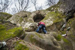 Богатырские пещеры. У подножия ©Фото Елены Синеок, Юга.ру