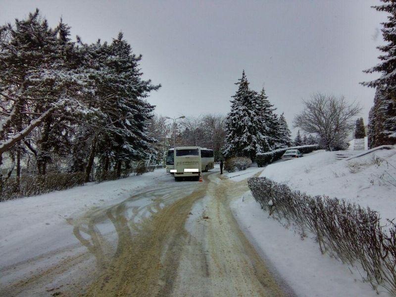 ВПятигорске столкнулись два автобуса