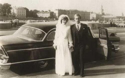 Свадьба Владимира Путина ©Фото с сайта commons.wikimedia.org