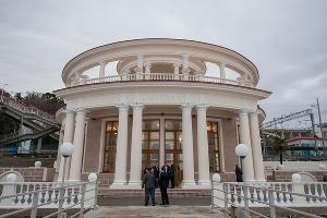"Открытие здания морского вокзала ""Мацеста"" в Сочи ©Нина Зотина, ЮГА.ру"