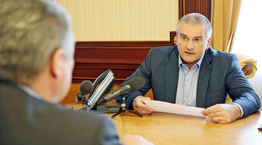 Сергей Аксенов ©Фото пресс-службы правительства Крыма