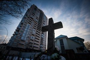 Таманское кладбище. Краснодар, январь ©Фото Юга.ру