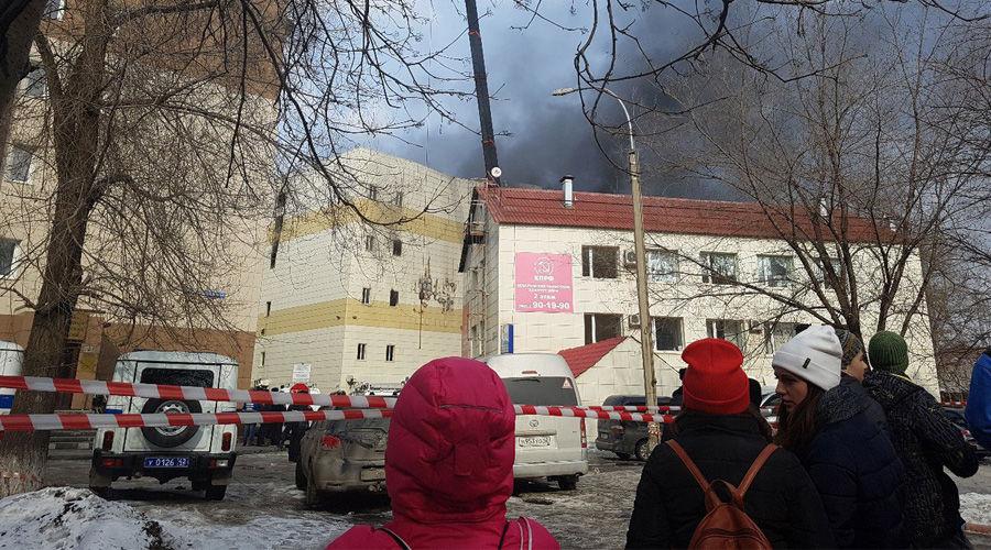 ©Фото телеграм-канала «ЧП Кемерово», t.me/chpkemerovo