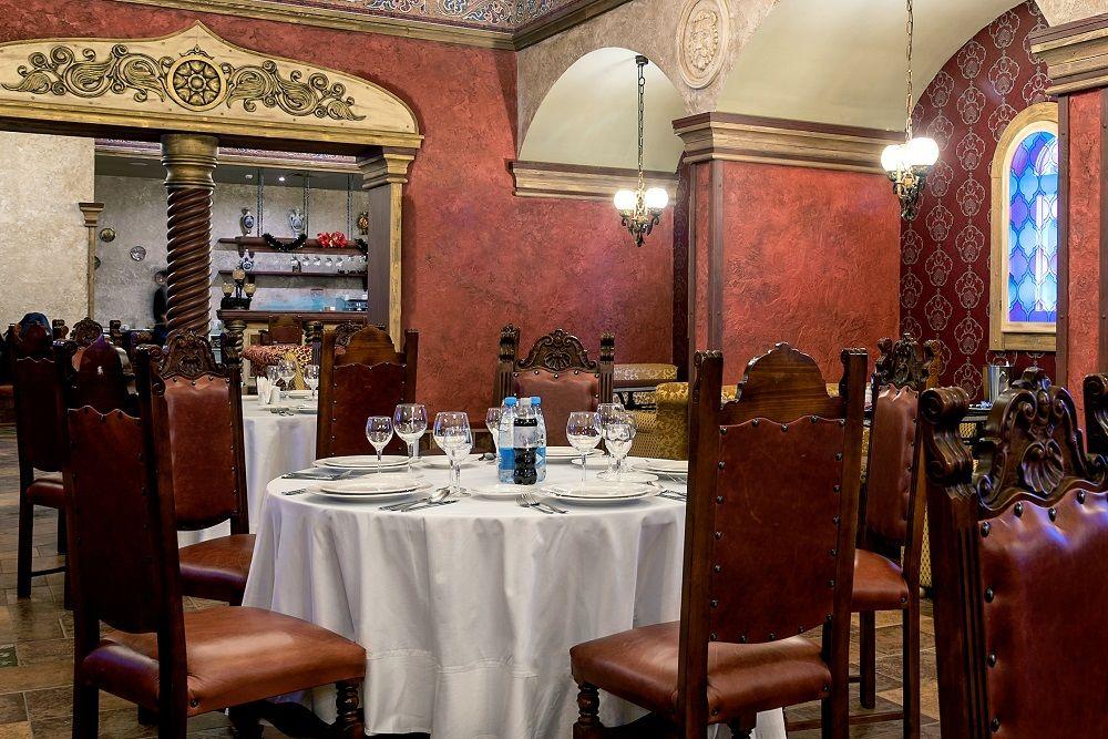 Ресторан «Москва» ©Фото предоставлено пресс-службой курорта «Роза Хутор»