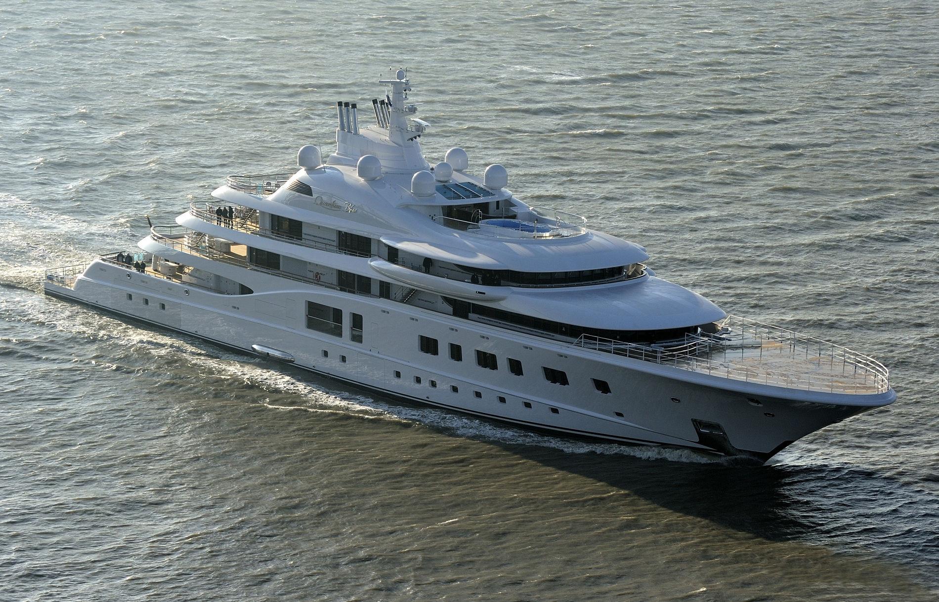 Яхта Quantum Blue ©Фото с сайта fleetmon.com
