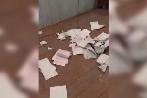 На избирательном участке в одном из сел Дагестана жители устроили драку и погром