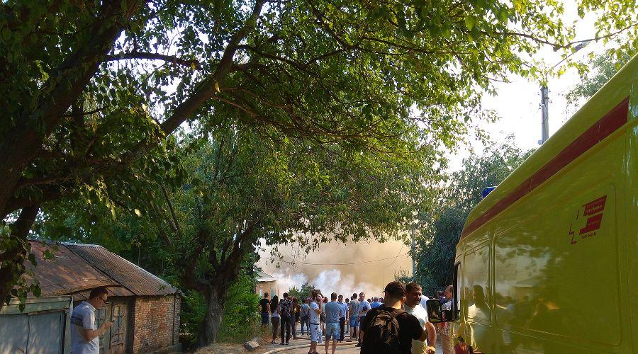 Пожар в Ростове-на-Дону ©Фото Антона Пилипенко, Юга.ру