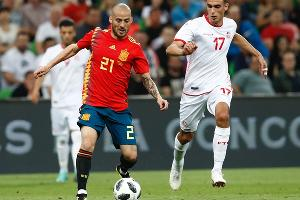 Товарищеский матч Испания — Тунис в Краснодаре ©Фото из аккаунта twitter.com/sefutbol
