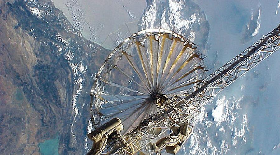 Космическая станция «Мир» ©Фото с сайта energia.ru