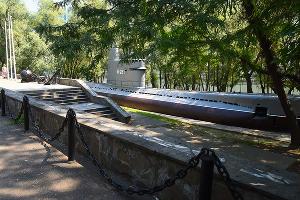Подводная лодка М-261 на Затоне, июль 2020 года ©Фото Елены Синеок, Юга.ру