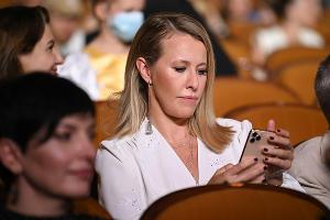 Ксения Собчак на церемонии закрытия 31-го фестиваля «Кинотавр» в Сочи ©Фото Артура Лебедева, Юга.ру