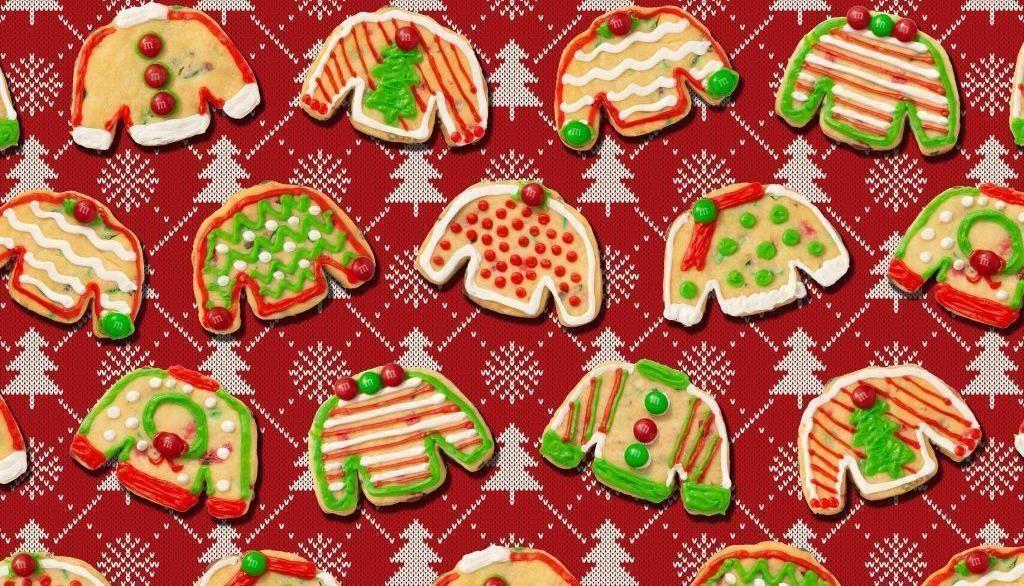 Печенье «Рождественский свитер» ©Фото предоставлено пресс-службой сервиса «СберМаркет»