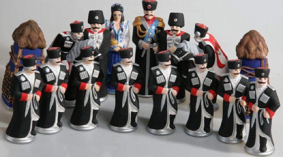 Кубанские сувениры, казаки ©www.artuga.ru