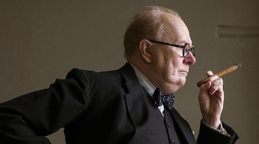 Гэри Олдмен в роли Черчилля ©Фото kinopoisk