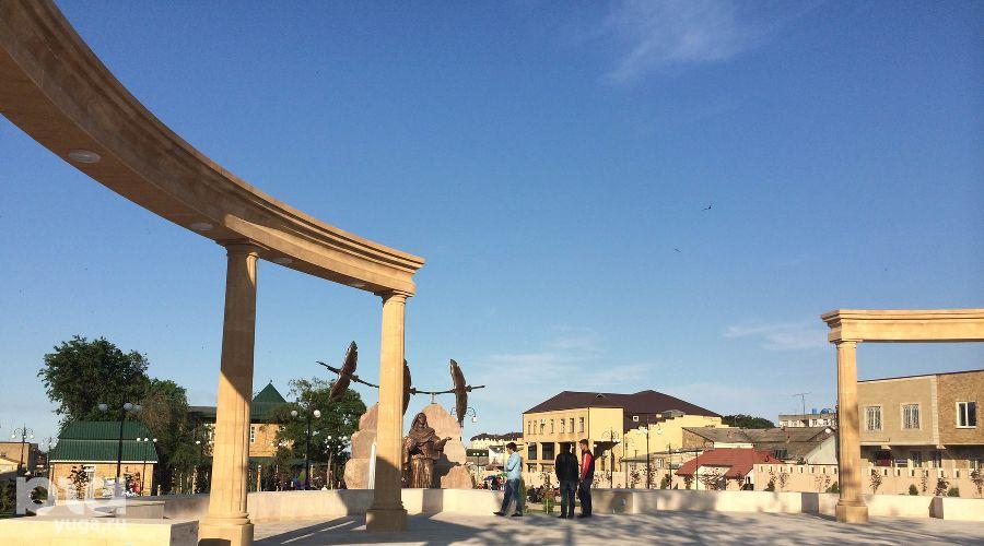 Парк боевой славы им. Шамсулы Алиева ©Фото Юга.ру